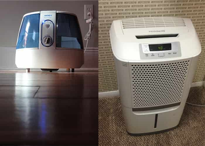 humidifiers dehumidifiers