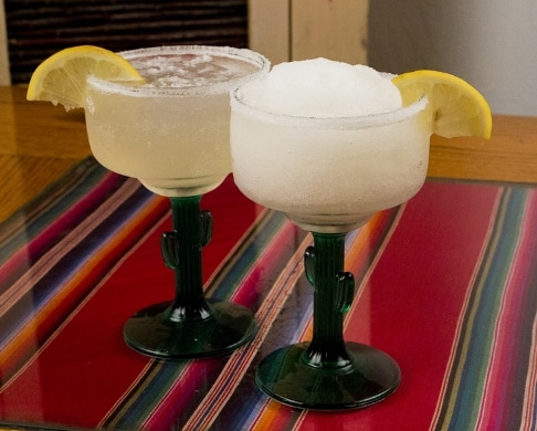 2 margarita drinks